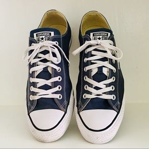 CONVERSE ALL STAR LOW TOPS NAVY BLUE SIZE 11